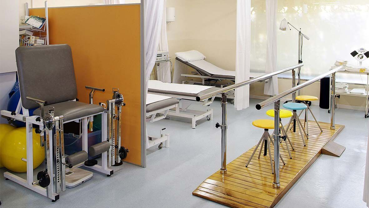 sala de rehabilitació fisioteràpia_Clínica Bofill